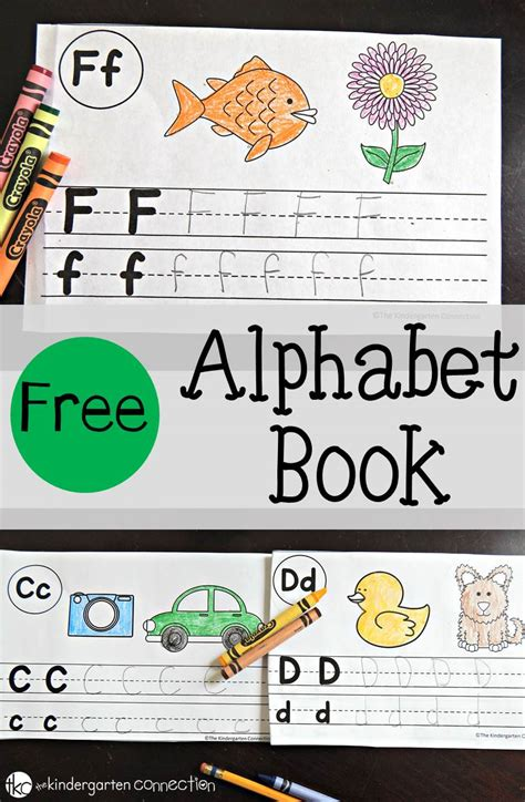 pictures for alphabet book free alphabet book the kindergarten connection