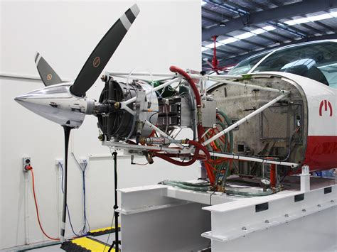Electric Plane Motor by A Better Motor Is The Step Towards Electric Planes