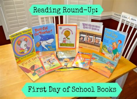 picture day book 10 day of school books