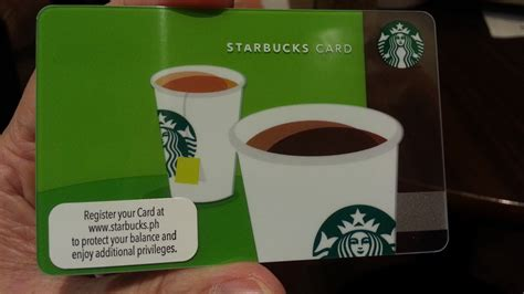 how to make a starbucks card the philippine beat get your starbucks card a stored
