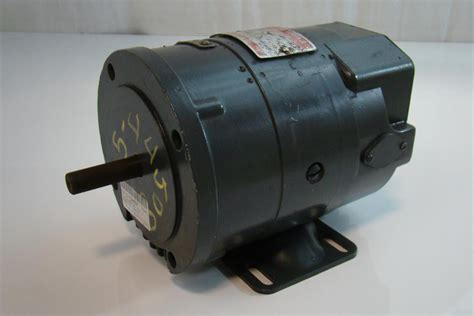 General Electric Motors by General Electric Dc Motor 1 8hp 1380 3450rpm 250v 7 A