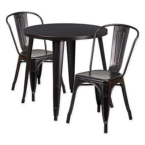 30 inch dining table flash flash furniture 3 30 inch metal table and