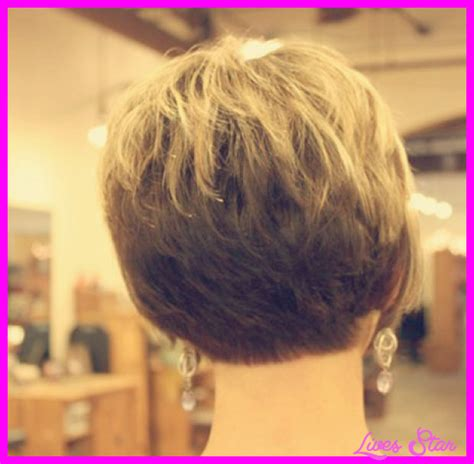 views of back of medium hairstyles back view of stacked wedge haircut hairstylegalleries com