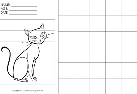 grid drawing grid worksheets drawing with grids activity