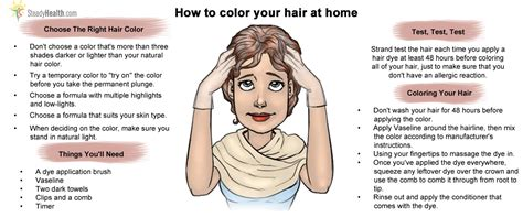 how to color hair how to color your hair at home care articles well being center steadyhealth