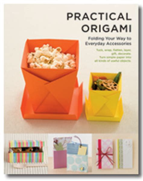 origami useful items practical origami vertical inc