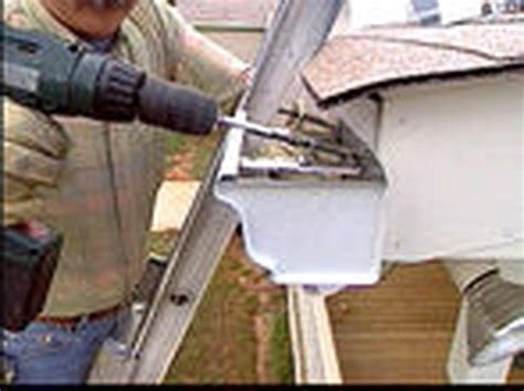 how to put gutters on a house putting gutters on a house 45degreesdesign