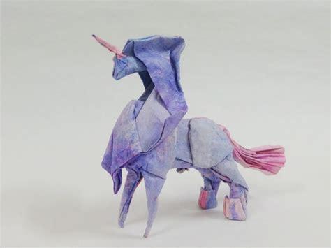 easy origami unicorn origami unicorn comot