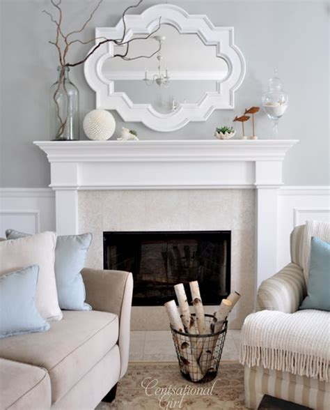 paint colors for living room with fireplace living rooms mirror design ideas