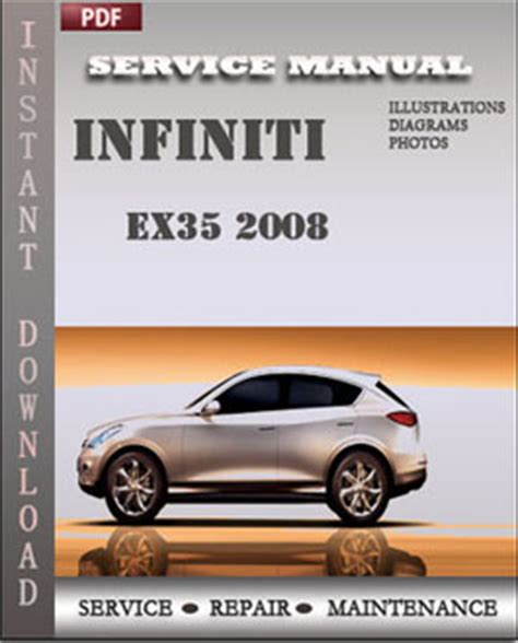 manual repair autos 2008 infiniti ex parental controls infiniti ex35 2008 service maintenance manual servicerepairmanualdownload com