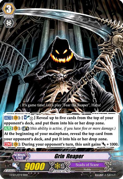 how to make vanguard cards grin reaper vanguard card by nedliv on deviantart