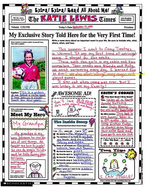 instant personal poster sets read all about me 30 big write and read learning posters ready for to personalize and display with pride read all about me poster set school