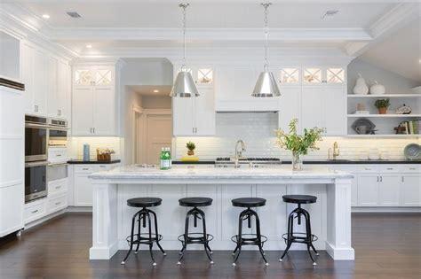 white kitchen with island kitchen island with white quartzite countertop