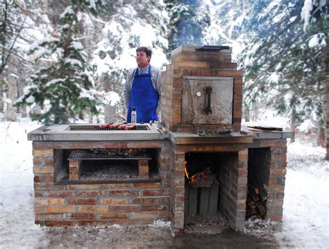 outdoor barbeque designs create brick bbq plans before building barbeque or grill