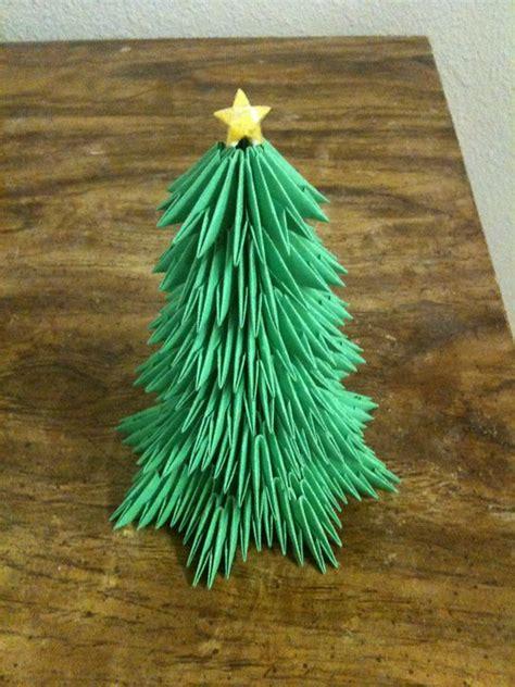 origami 3d tree tree album master ha 3d origami