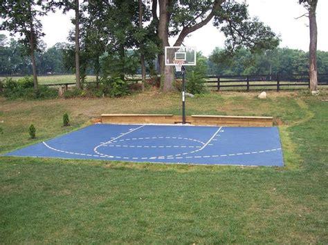 basketball half court dimensions backyard 25 best ideas about basketball backboard on