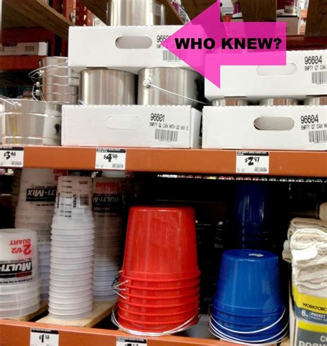 home depot crafts at home depot empty paint cans the gallon cans are about