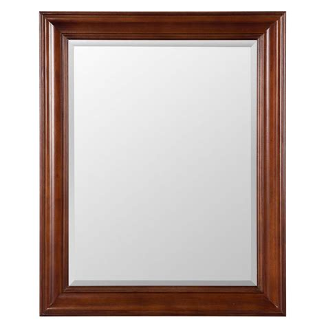 home decorators mirror home decorators collection brexley 32 in x 26 in framed