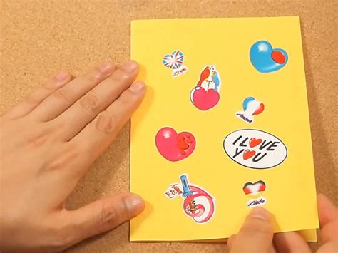 how to make birthday cards step by step 3 ways to make birthday cards wikihow