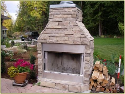 prefab outdoor fireplace wood burning prefab outdoor fireplace 20 photos bestofhouse net 36746