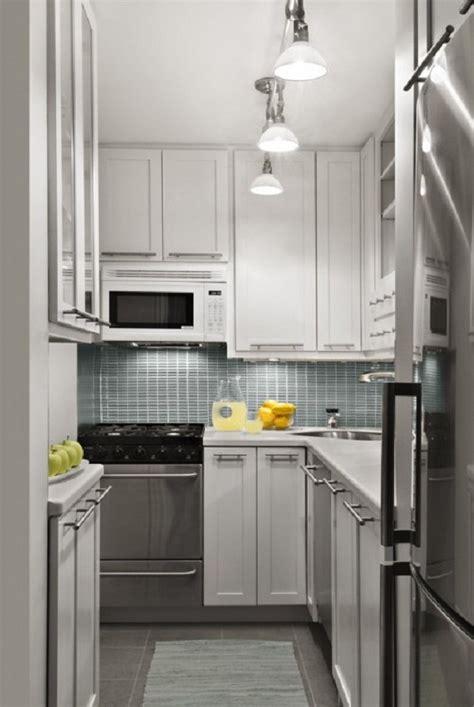 design for small kitchen small kitchen design ideas spotlights white cabinets grey