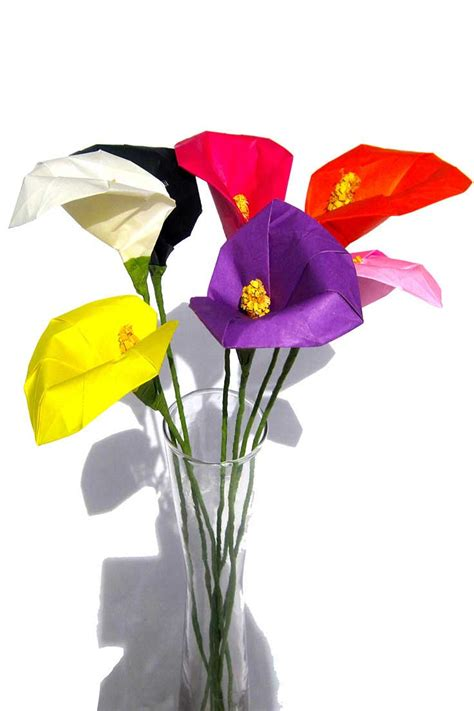 origami calla origami calla various colors available