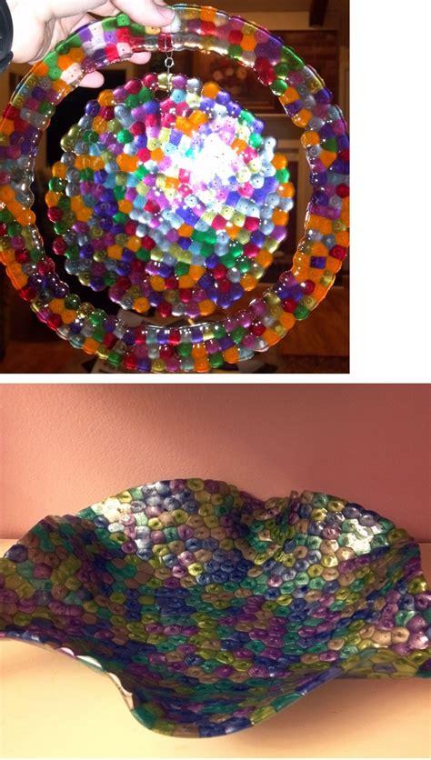 melting plastic for crafts 197 best melted bead suncatchers images on