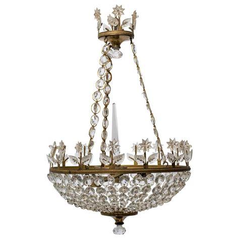 1940s chandelier 1940s basket chandelier for sale at 1stdibs