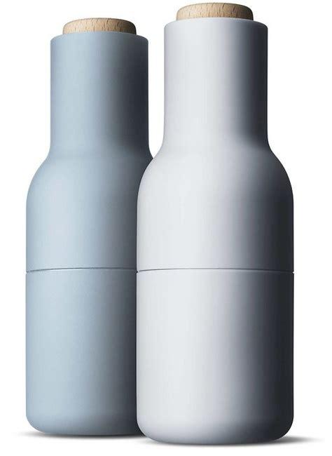 Salz Und Pfeffermühle Menu by Menu Salz Und Pfefferm 252 Hle Bottle Grinder 2er Set Blau