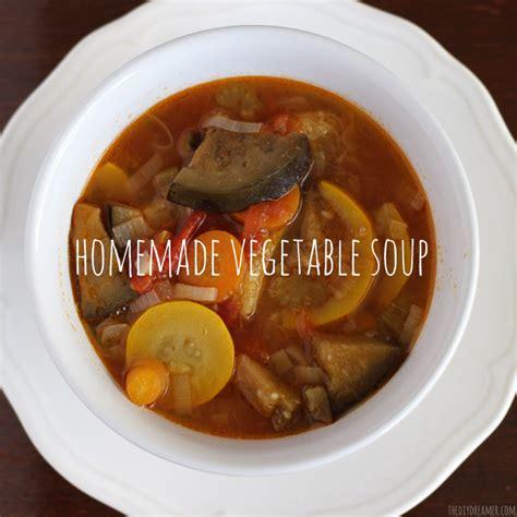 how to make garden vegetable soup easy garden vegetable soup recipe