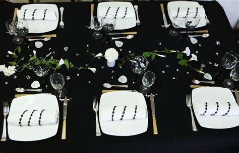 table en noir et blanc tables et d 233 co d estelle
