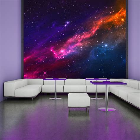 outer space wall mural outer space nebula universe astronomy wall mural cosmic