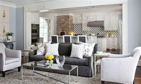 living room grey sofa charcoal gray sofa transitional living room sherwin