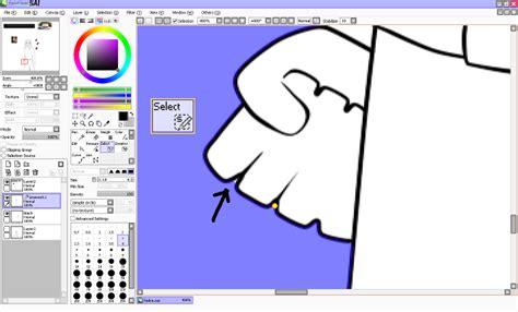 paint tool sai anti aliasing digital tutorial coloring in paint tool sai shouldn t