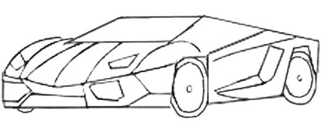 how to draw a car 8 steps with pictures wikihow how to draw sports car draw step by step