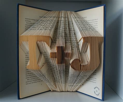 origami gifts for him paper anniversary gift for him initial book origami made to