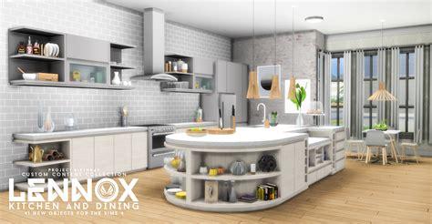 kitchen set ideas simsational designs updated lennox kitchen and dining set