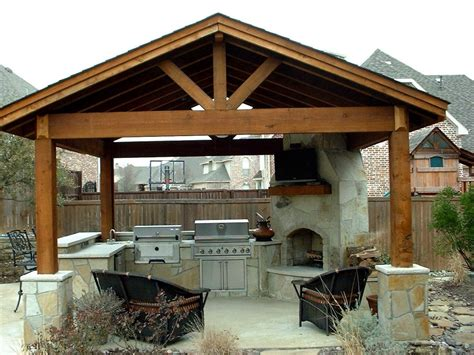covered outdoor kitchen designs outdoor kitchen ideas and how to site it right traba homes