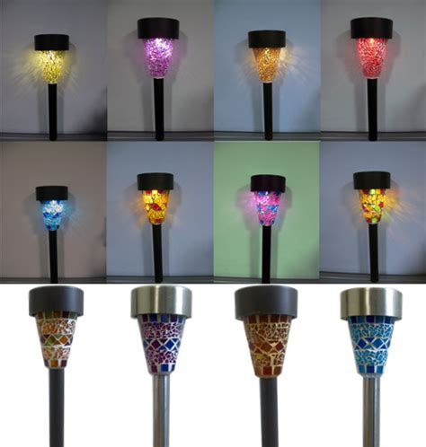 solar mosaic garden lights mosaic solar garden lights in ningbo zhejiang china