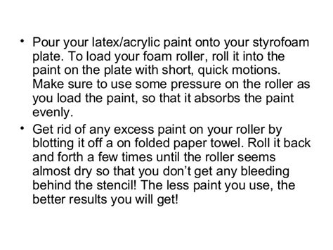 how to get rid of acrylic paint on a canvas how to stencil a kitchen border
