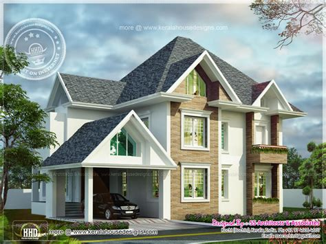 european home design european model house construction in kerala kerala home design and floor plans