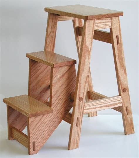 woodworking plans step stool pdf diy free folding wood step stool plans window