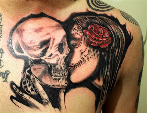 amor hasta la muerte ace tattoos pinterest