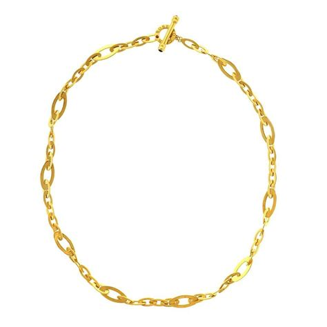 how to make gold jewelry shine roberto coin chic and shine gold necklace at 1stdibs