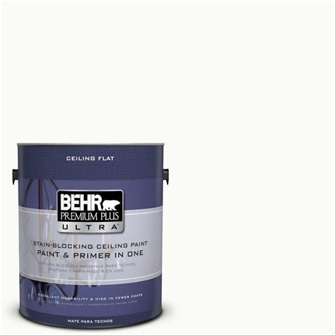 behr paint color ultra white behr premium plus ultra 1 gal ppu18 6 ceiling tinted to