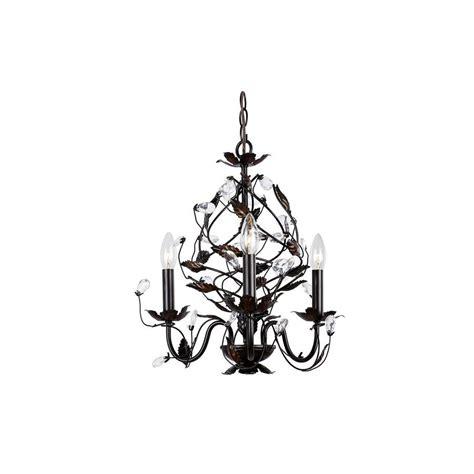 chandelier 3 light hton bay 3 light rubbed bronze chandelier hd 237003