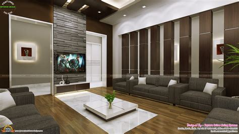 interior design ideas for homes attractive home interior ideas kerala home design and floor plans