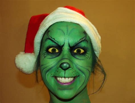 grinch up the grinch makeup by corabime on deviantart