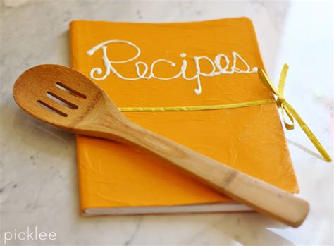 pictures of recipe books diy recipe book 10 minute transformation picklee