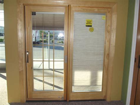 sliding door with blinds between glass sliding patio doors with blinds between the glass